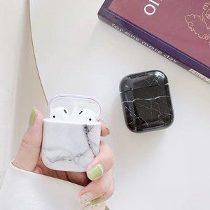 NEW Marble Hard Apple Airpods 1 2 Pro case